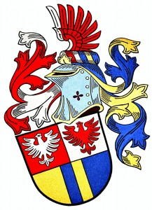 The coat of arms of Alerion