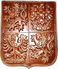 Ceramic coat of arms
