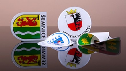Stickers, magnets and patches