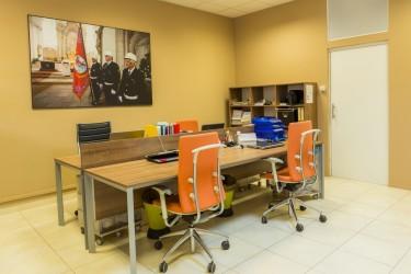 Company seat interior