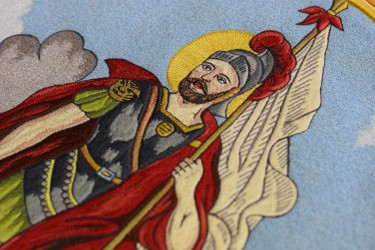 St. Florian embroidery
