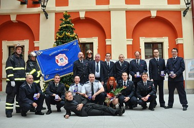 Introduction of a brand new fire brigade banner