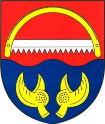 The coat of arms of Rudolec