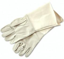 Flag bearer leather gloves