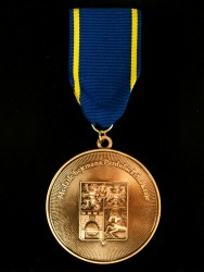 Custom-made medals with an original graphic design