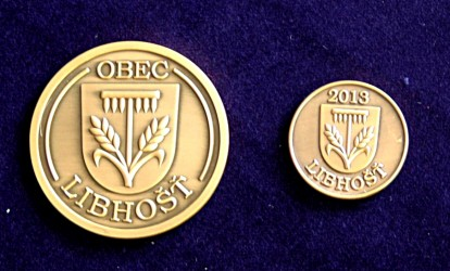 Commemorative coins for Libhošť