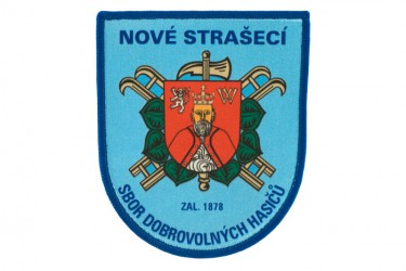 Printed patches for the Volunteer Fire Brigade (SDH) Nové Strašecí