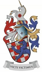 Personal heraldic achievement of JUDr. Vlastimil Vlk