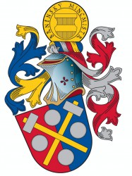 Personal heraldic achievement of the master minter of Brno
