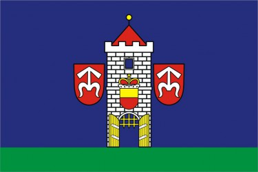 A draft of a flag for Moravský Krumlov