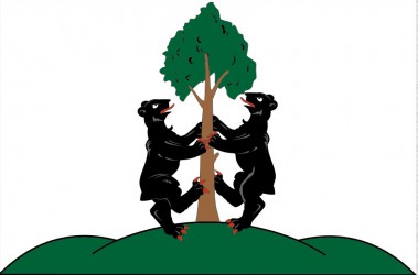The flag of Přimda