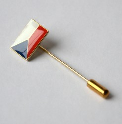 Czech flag pin