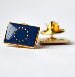 European Union flag pin