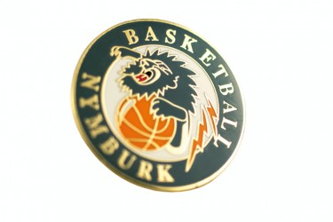 Club lapel pins with an original design