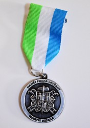 Commemorative firefighter medal