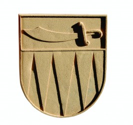 Sandstone coat of arms