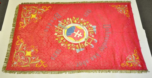 Historical banner of Volunteer Fire Brigade (DHZ) Brodno