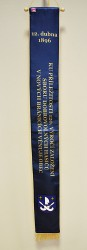 An example of a printed ribbon