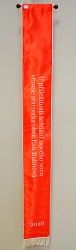 Fire brigade printed ribbon