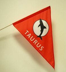 Custom made printed flags in various shapes and sizes