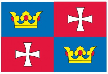 The flag of Chvalšiny