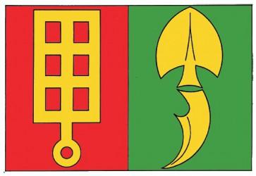 A draft of a flag for Horní Štěpánov
