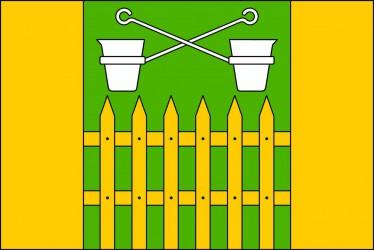 The flag of Obůrky