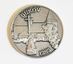Commemorative coin for the Volunteer Fire Brigade (SDH) Bukov