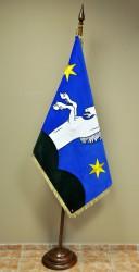 Embroidered ceremonial flag of Jaroměřice