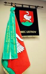 Embroidered symbols of Lestkov