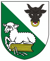 A draft of a coat of arms for Spělkov