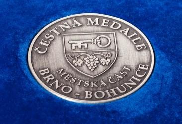 Čestná medaile městské části Brno - Bohunice