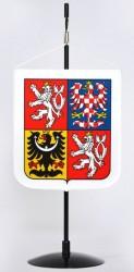 Stolní vlaječka s velkým státním znakem ČR