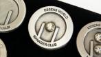 Ukázka zakázkové výroby odznaků pro společnost Essence