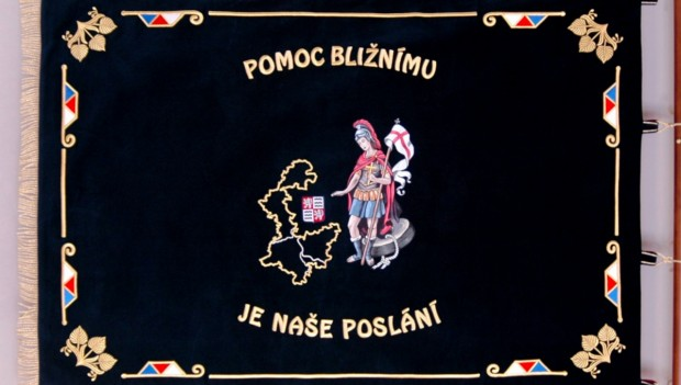 The story of the banner for DAVF Prague-West District